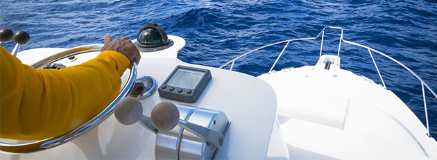 boat in water with comprehensive boating insurance coverage