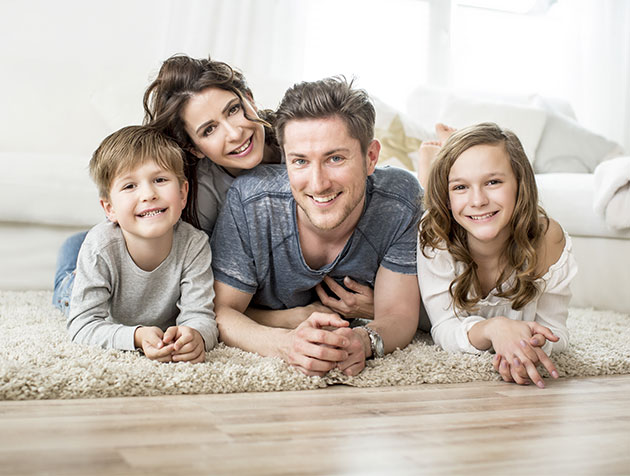 family with life insurance