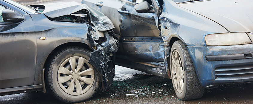 car in accident with liability only coverage