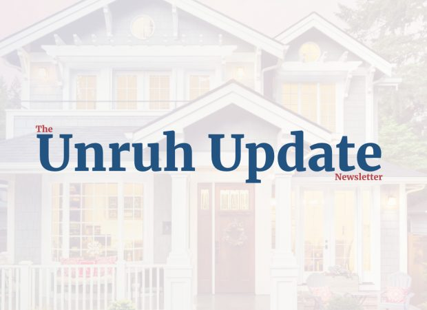 Unruh Update | Summer Newsletter 2020